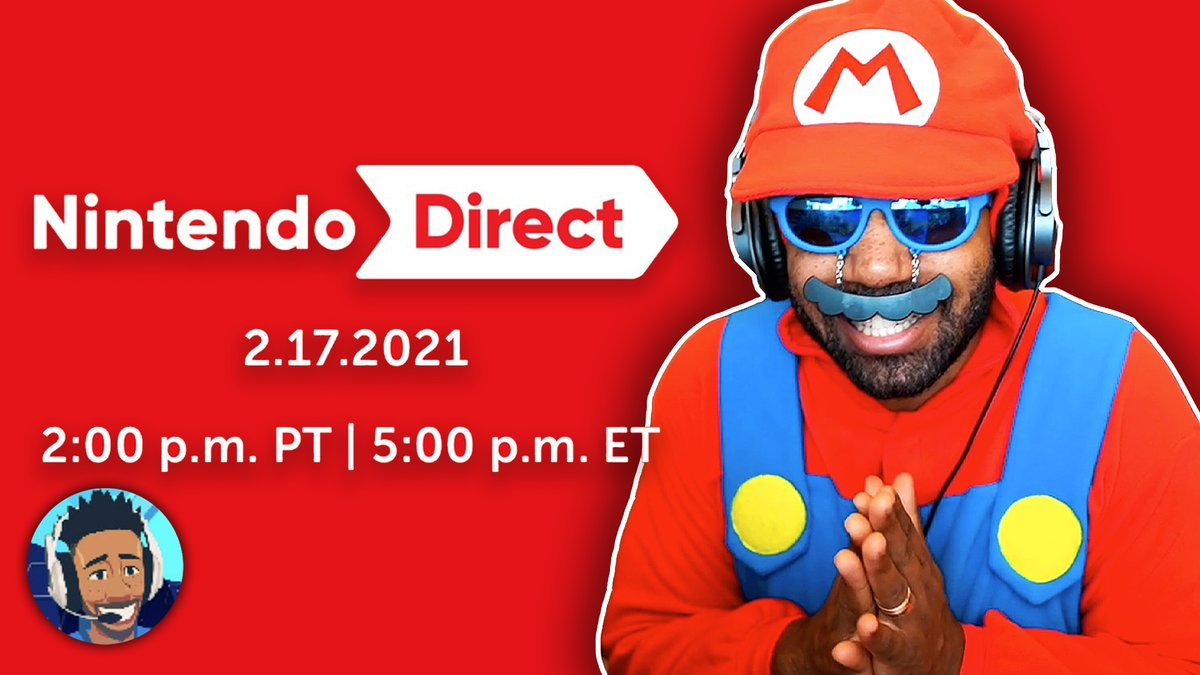 See you in an Hour 😈 #NintendoDirect twitch.tv/runjdrun youtube.com/watch?v=hG23O8…
