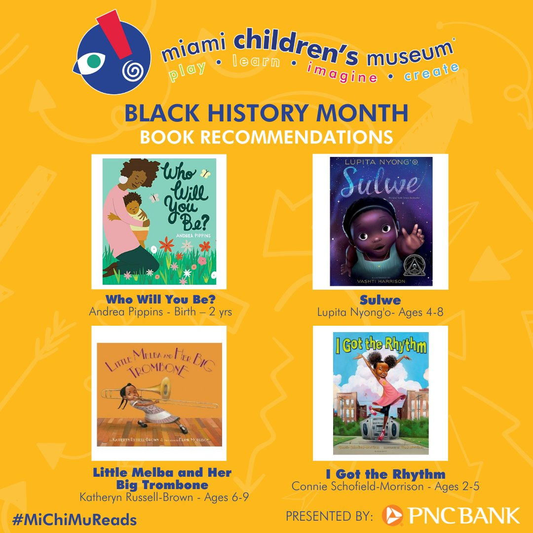 Here are this week's #whattoreadwednesday book recommendations!   #blackhistorymonth is sponsored by @PNCBank https://t.co/2fP33Nlhy1