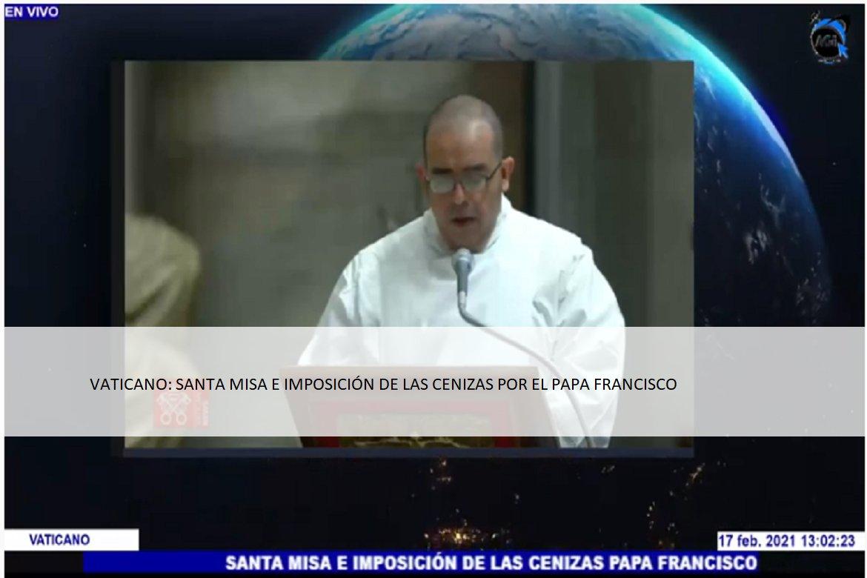 """#AGINFORMACION...""""#VATICANO: #SANTA #MISA E #IMPOSICIÓN DE LAS #CENIZAS POR EL #PAPAFRANCISCO...""""   @maxi_pelaezp @lopezobrador_ @senadomexicano @Mx_Diputados @GobiernoMX @Pontifex"""