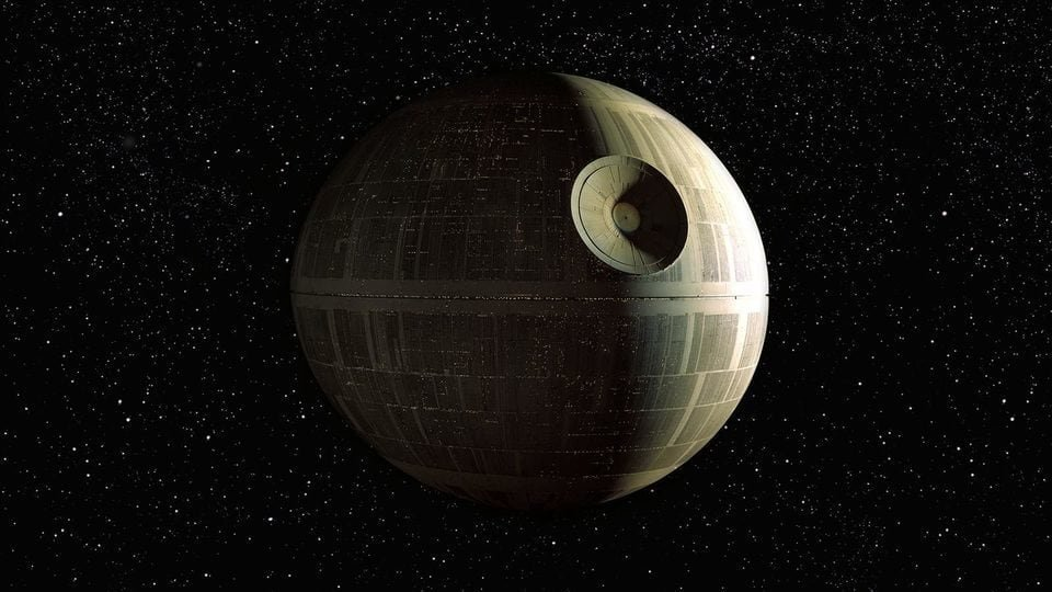 Replying to @SWTweets: Almost 1M people were on board the Death Star when Luke Skywalker blew it up