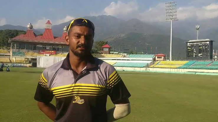 Lesser known T20 talent up for sale in the #IPL2021Auction - No.3️⃣  📢 Pankaj Jaswal 🇮🇳 of @himachalcricket (Rs 20L)  Jaswal hit the 2nd fastest fifty inRanji Trophy (16 balls) in 2017. Prev with MI, Jaswal took 10 wickets at economy of 6.1 in the recent #smat2021  #IPL2021