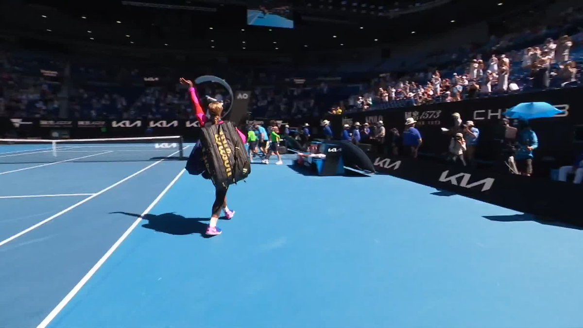 A reminder (not that we necessarily needed it) today of the major part crowds play at sporting events. This poignant moment and significant talking point would not have happened had Serena Williams been departing an empty stadium.