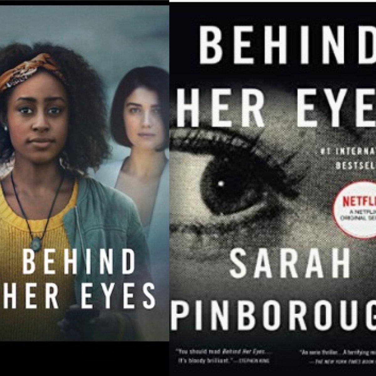 #booktoseries @netflix @SarahPinborough BEHIND HER EYES #mysteries #plottwist