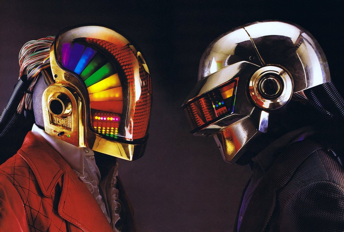 Replying to @Daft_Wub: The creation of the original Daft Punk robots. A thread.