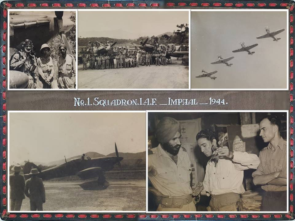 #ThrowbackThursdays   A piece of photographic history from the album of No 1 Sqn, when they operated Hurricanes in the 'Defence of Imphal', circa 1944-1945.  Nostalgia!  #HistoryMatters