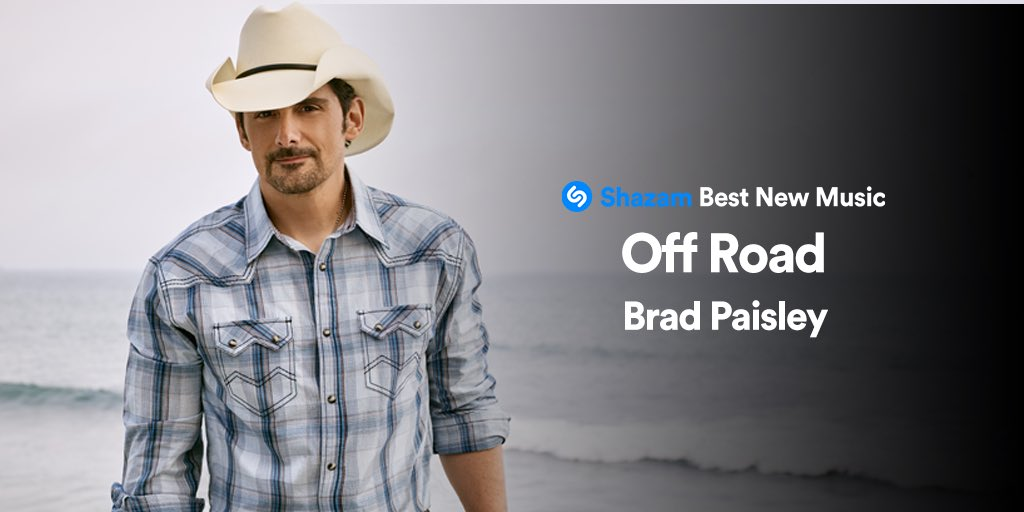 Big thanks to @Shazam for including #OffRoad on their #BestNewMusic playlist: