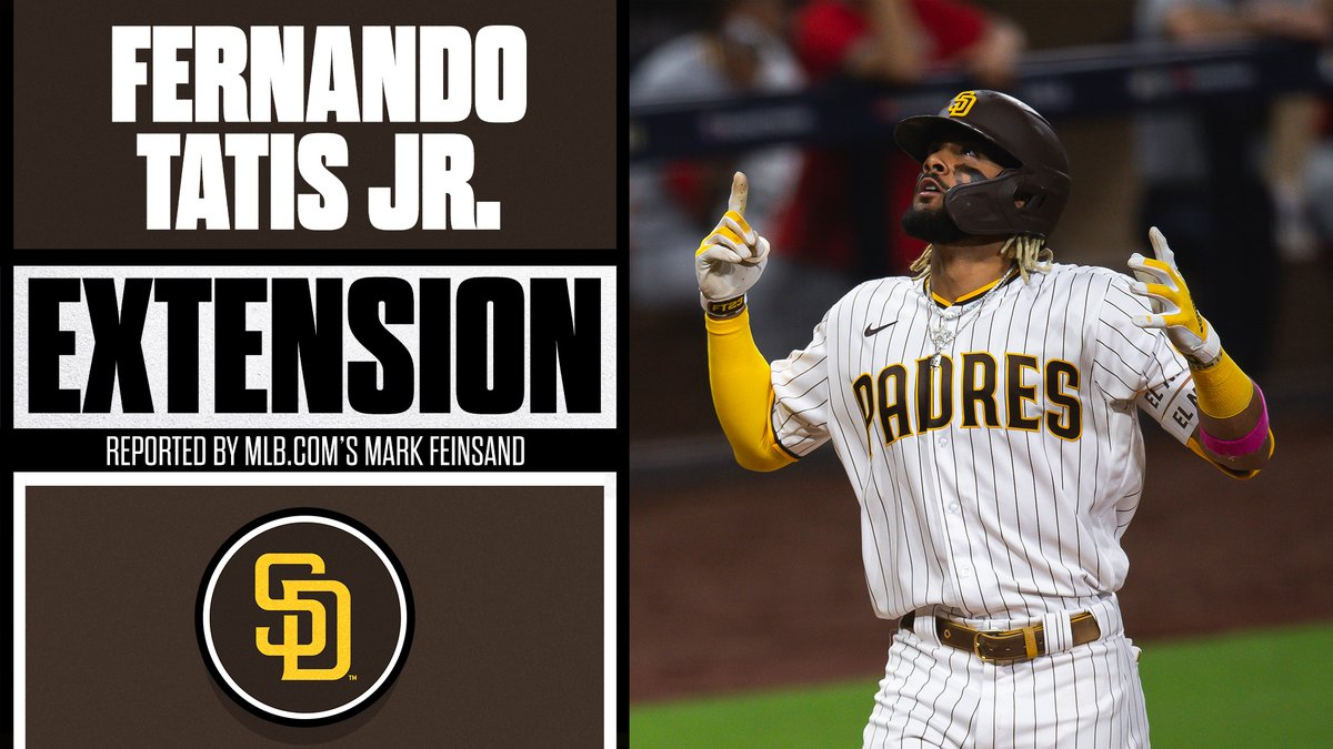 What an offseason in San Diego!  Fernando Tatis Jr., Padres reportedly agree to 14-year, $340 million deal, per 's Mark Feinsand.