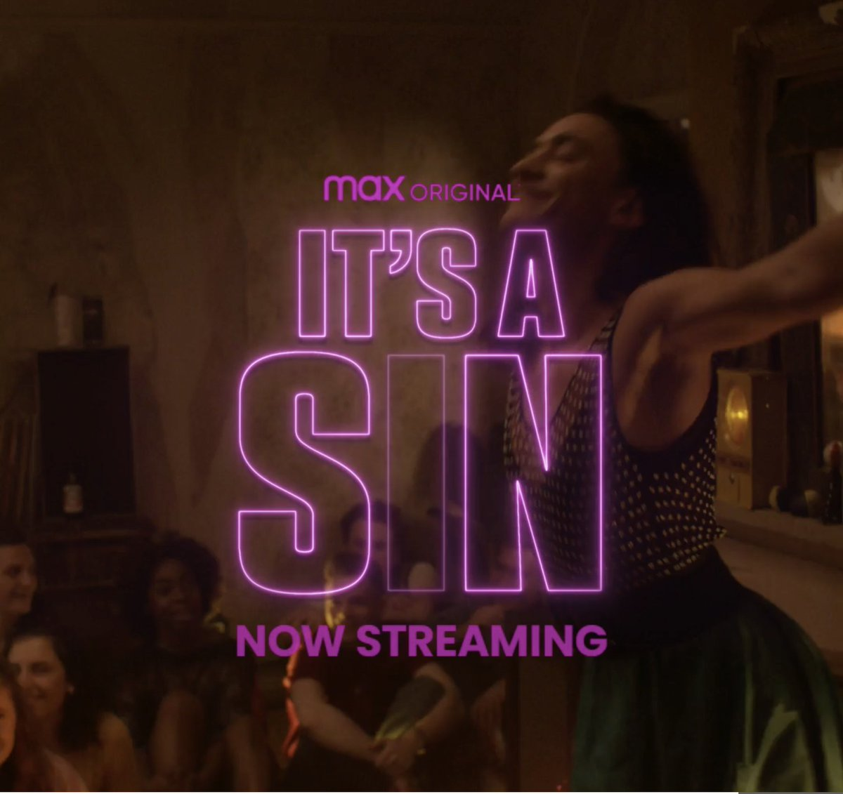 Party like it's 1981 🔥 It's A Sin, a story of hope set in London's LGBTQIA+ community during the 1980s, is now streaming on HBO Max.
