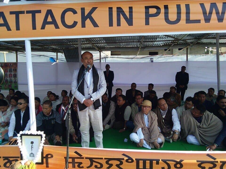 Remember #PulwamaTerrorAttack #pulwamamartyrs 2019.Jai hind @narendramodi @PMOIndia @AmitShah @JPNadda @sambitswaraj @STikendraBJP @RanjanRajkuma11 @MaharajaManipur @RakeshSinha01 @srcswamiji @VungzaginValte @imosingh @BJP4India @BJP4Manipur #pulwamamartyrs