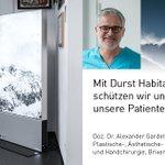 Image for the Tweet beginning: VIRENFREIE ZONE Luftdesinfektion mit >99,9% zertifizierter