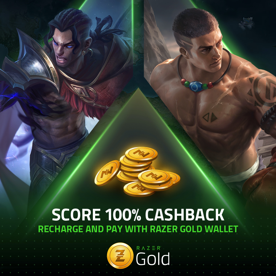 THIS IS NOT A DRILL! Get 100% CASHBACK when you buy diamonds with your Razer Gold account. Reload a minimum of P50 on you Razer Gold wallet using PayMaya to qualify. Promo is valid until 02/28/2021. Hurry, fam! 🏃🏼‍♂️  Go to  for the complete mechanics.