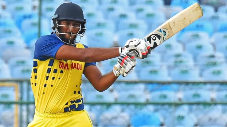 Lesser known T20 talent up for sale in the #IPL2021Auction - No.5️⃣  📢 Shahrukh Khan 🇮🇳 (Rs 20L) @TNCACricket  A 19-ball 40 helped TN beat HP in the #smat2021 QF.  Hit a boundary every 2.5 balls in the SMAT in limited chances. Fulfills a niche middle-order role.  #IPL2021