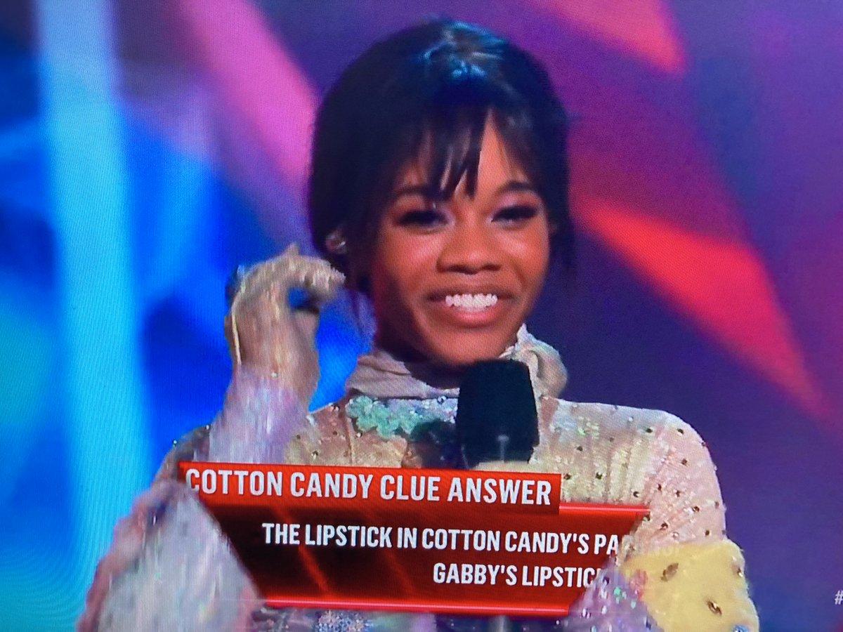 Spoiler Alert!!! @PaulaAbdul got the most correct guesses this season including first winner of @MaskedDancerFOX is #GabbyDouglas #CottonCandyMask #TheMaskedDancer
