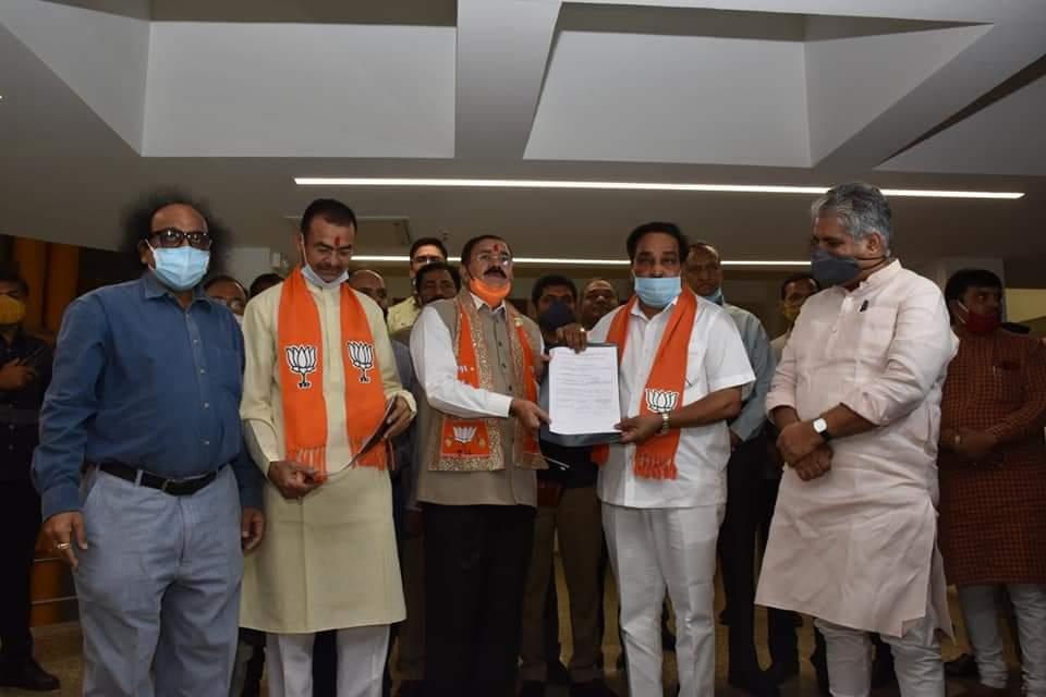 BJP Rajya Sabha candidates file nominations; Mokariya's term to be nearly 6 years, Prajapati 3 years
