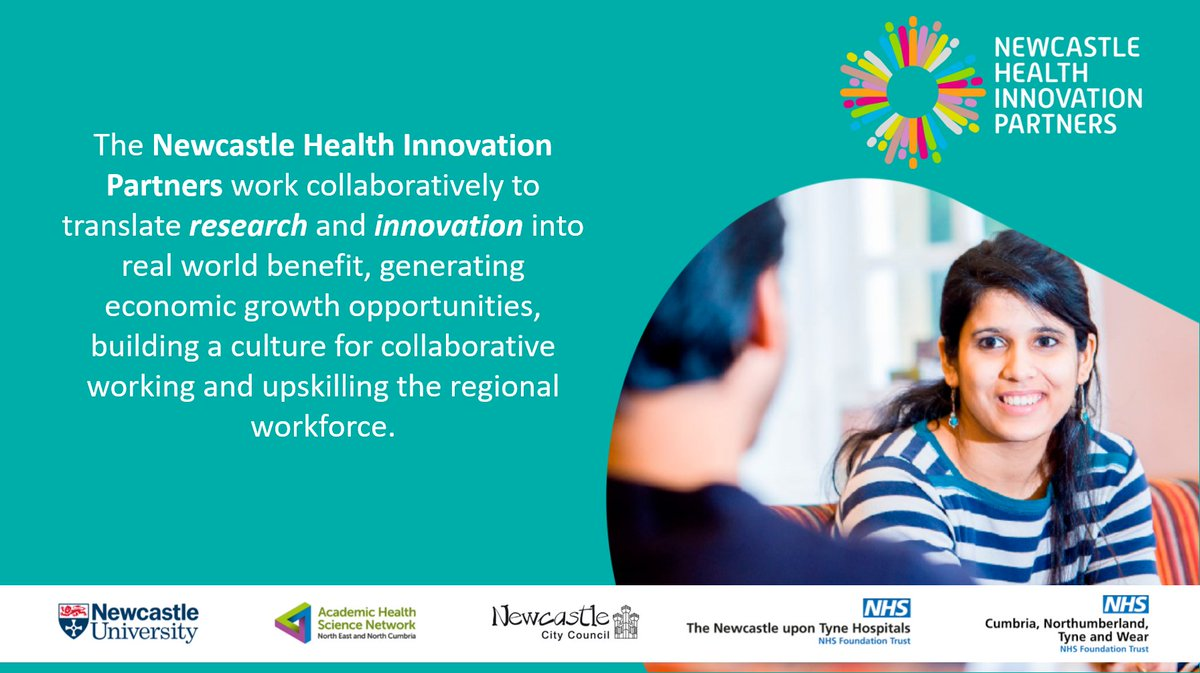 Following our designation as one of just eight Academic Health Science Centres in the UK, we are excited to be working with our partners to translate world-class #research and #innovation into real world benefit. Find out more via our new website ⤵️ newcastlehealthinnovation.org
