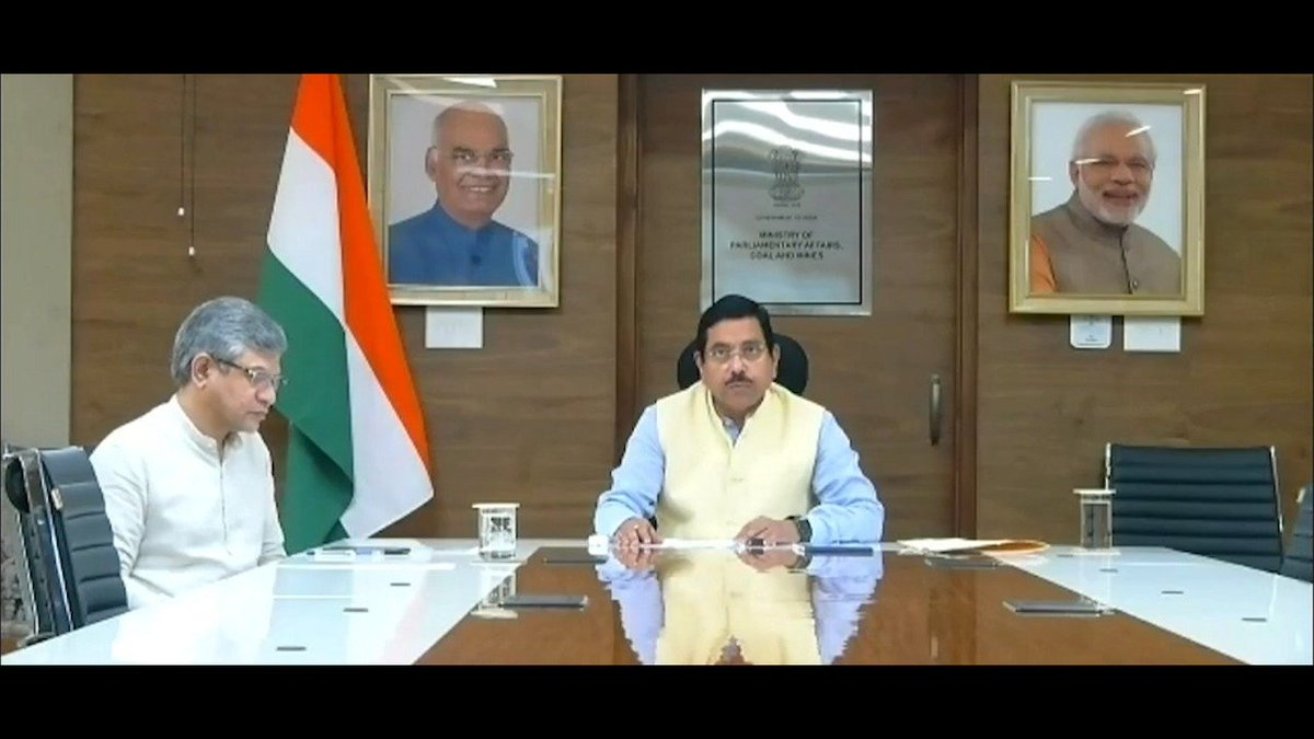 CM thanked the Union Minister for faster allocation of the mines and giving clearances in short time. CM added that Odisha has always supported reform in mining sector & stressed the need for both the State & Centre to work together to realise the huge potential of #Odisha.