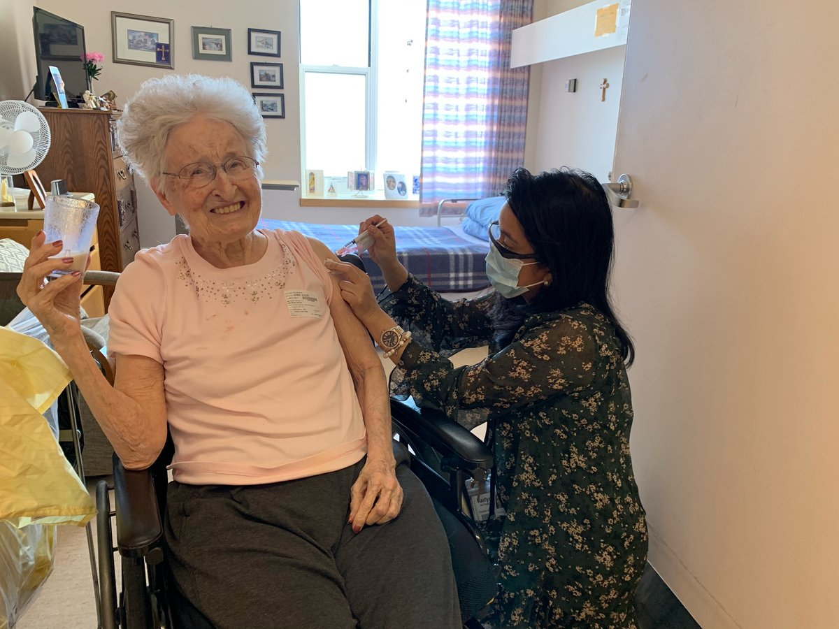 test Twitter Media - A huge THANK YOU to @KFLAPH for their assistance in preparing vaccinations for residents and also to all Providence Manor staff for their efforts in coordinating a smooth vaccination! Even our Director of Care vaccinated residents today! #COVID19Vaccine #ygk https://t.co/SMUIkFXMj2