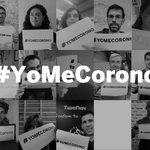 Image du début du Tweet: Rejoignez l'initiative #YoMeCorono et aidez-nous