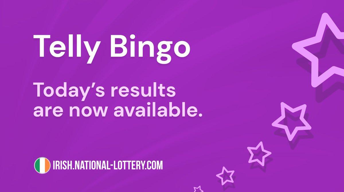 Telly Bingo Ticket