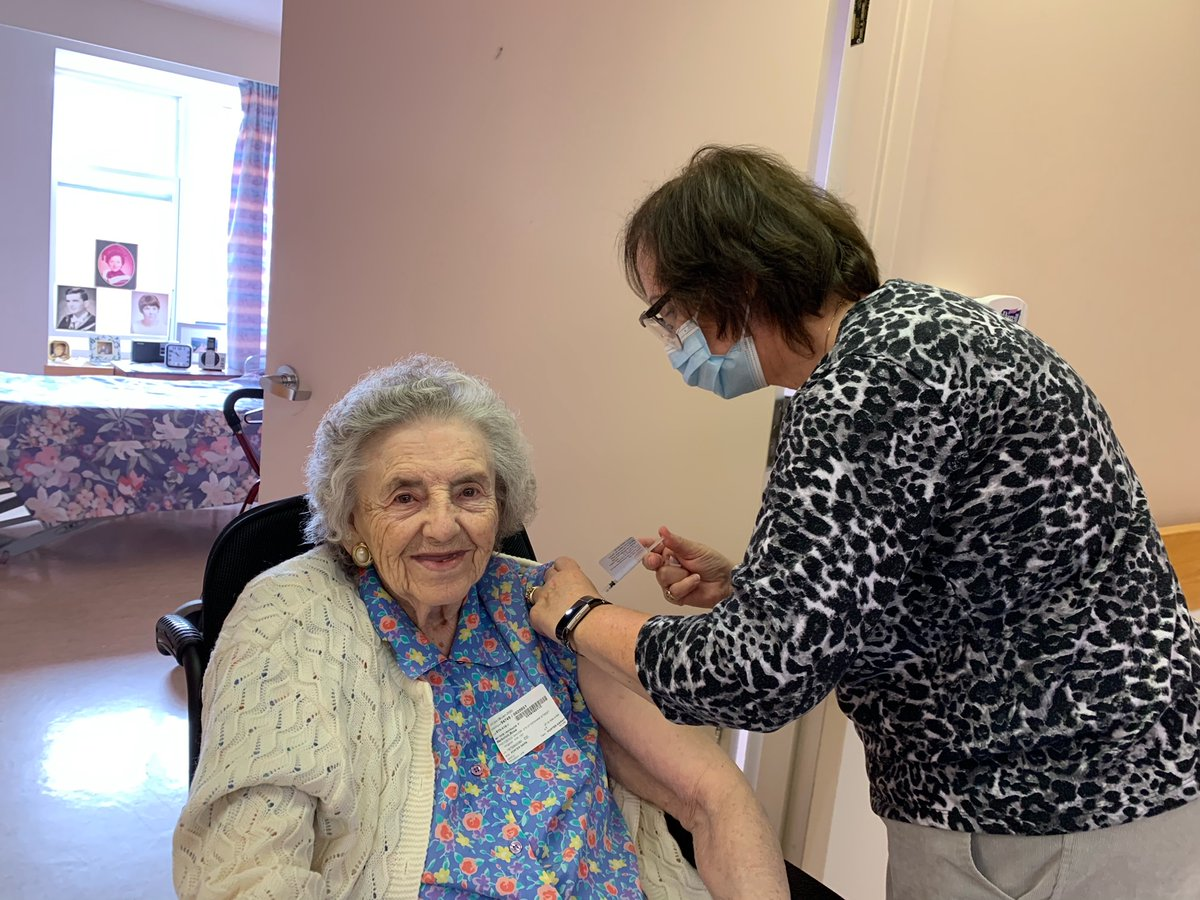test Twitter Media - We are so very happy that Providence Manor Residents received their second dose of the Pfizer-Biotech COVID-19 Vaccination yesterday! #ygk #COVIDVaccine #Healthcare https://t.co/3RsA3HG4LP
