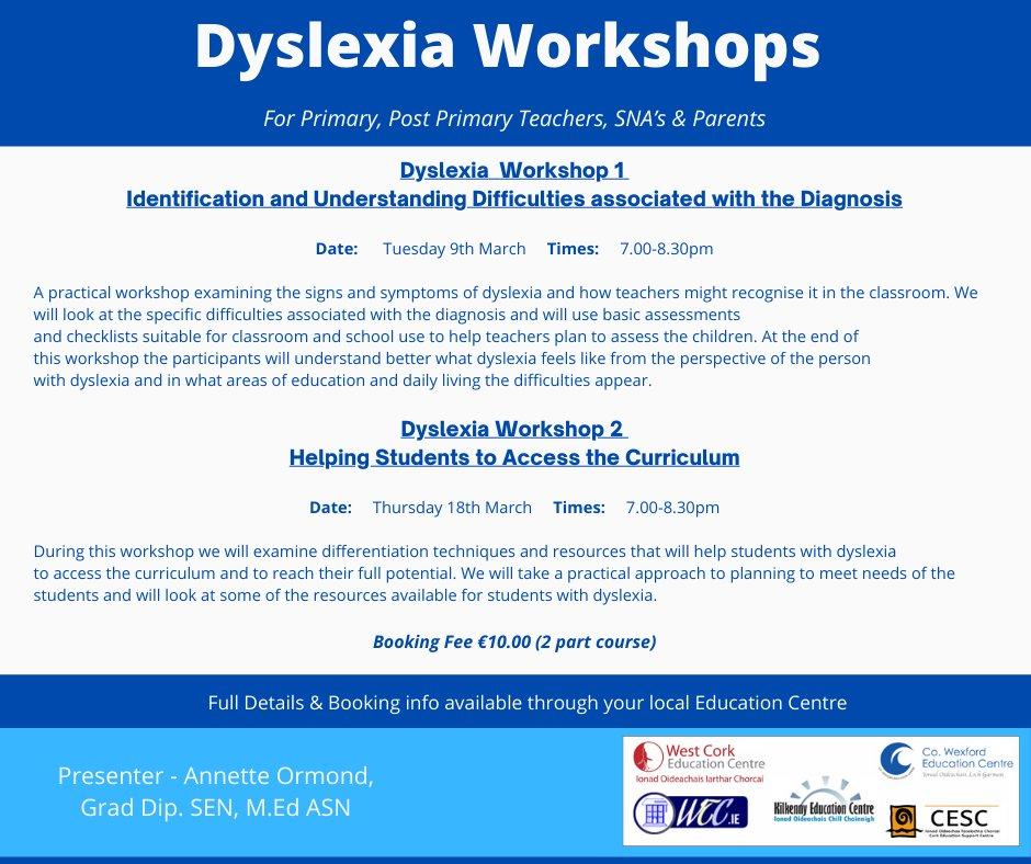 Dyslexia Workshop