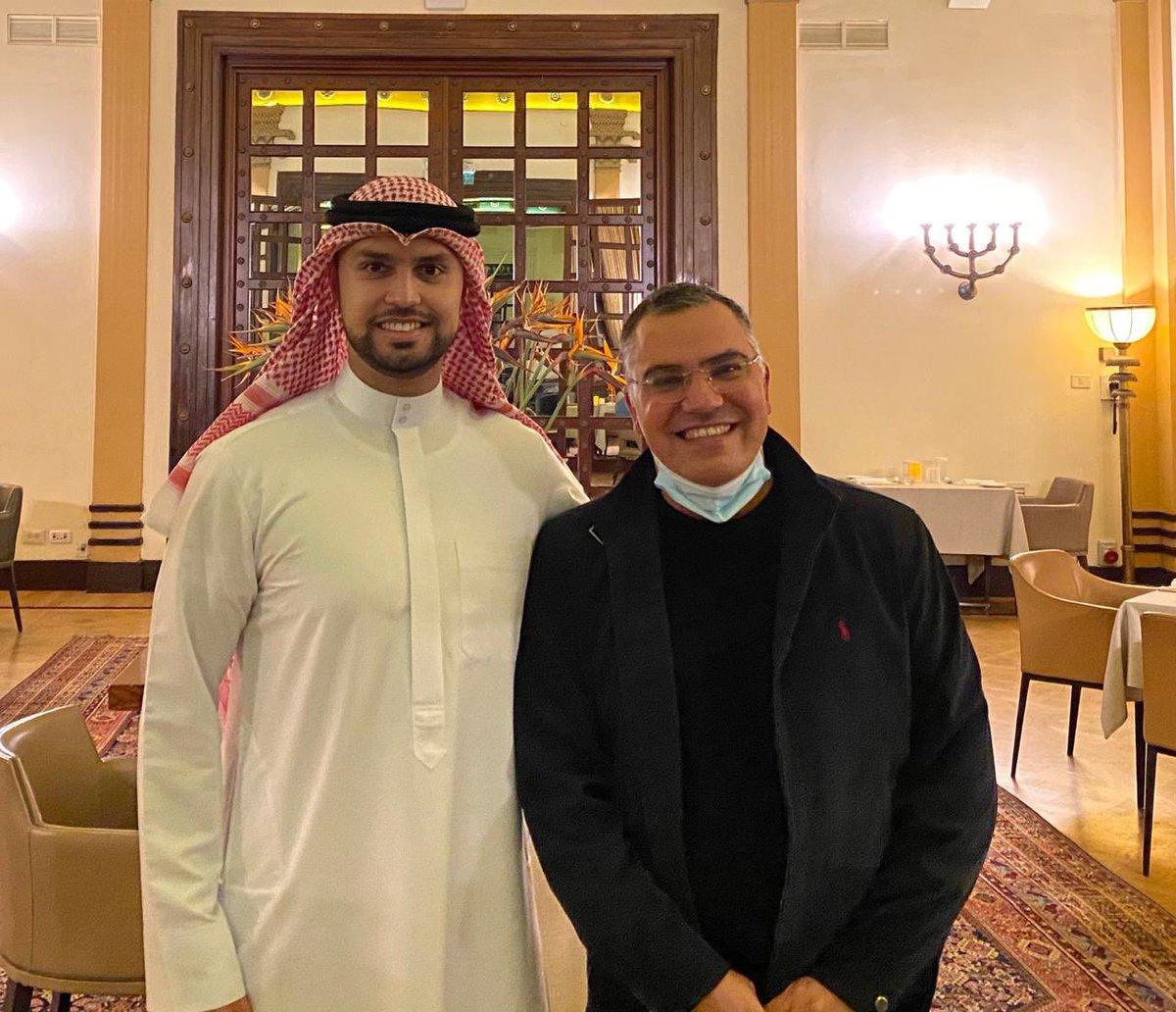 أفيخاي يغرد : يحتفل اليوم صديق إسرائيل وصديقي الغالي @DrAlsarrah بعيد ميلاده حيث نتمنى له الصحة والعافية وان يبقى