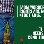 Image for the Tweet beginning: Farm workers often fall prey