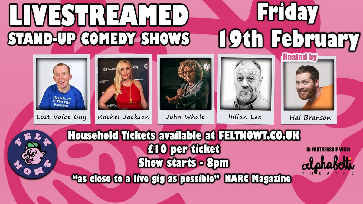 Can't wait to do comedy!