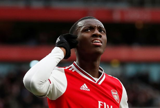 Recently, high-profile players in both men's and women's sports have been victims of racial abuse on social media.  Nketiah, 21, wasn't any different as he was sent a racist message telling him to leave Arsenal.  #Nketiah