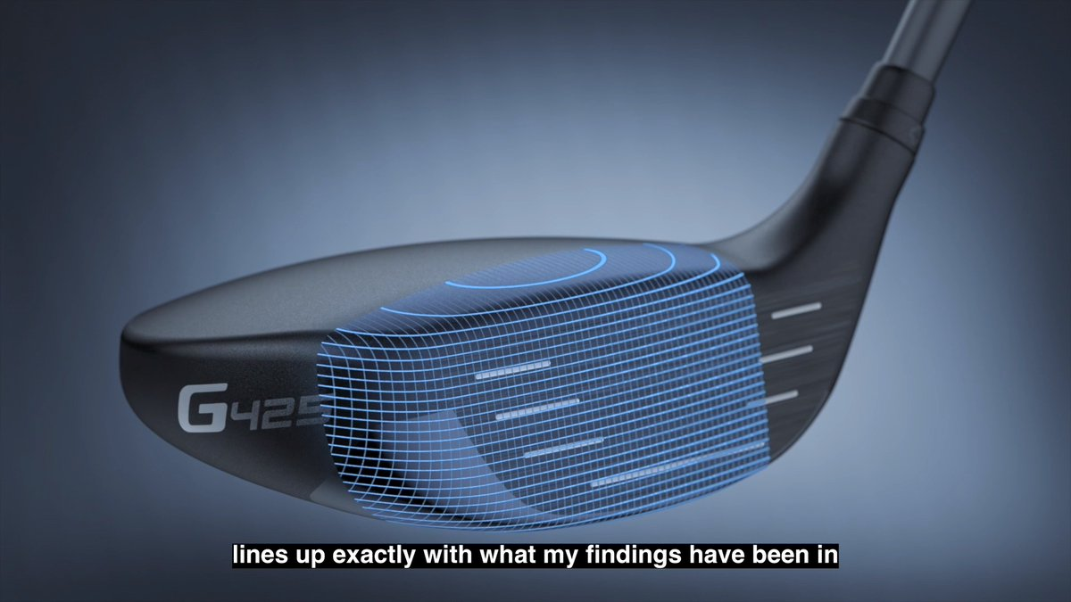 Have you heard of Spinsistency? Hear how the new technology in the #G425 fairways and hybrids translates to more consistent performance for #TeamPING.