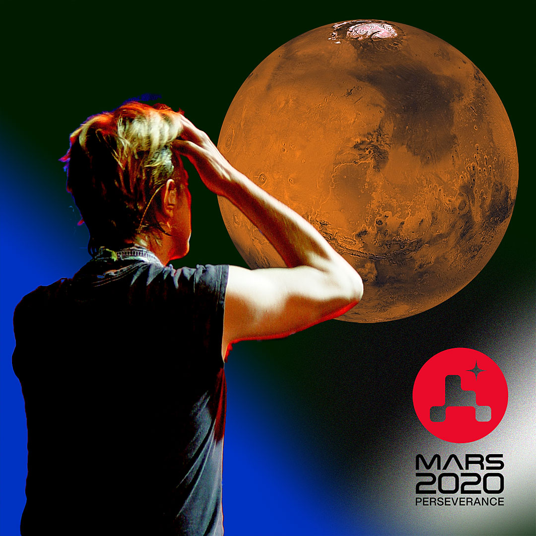 Was there life on Mars? @NASAPersevere, set to land today, will search for signs of ancient life and pave the way for future astronauts.    If the rover lands successfully, you'll hear Yungblud's cover of Bowie's classic at the end of the #CountdownToMars: