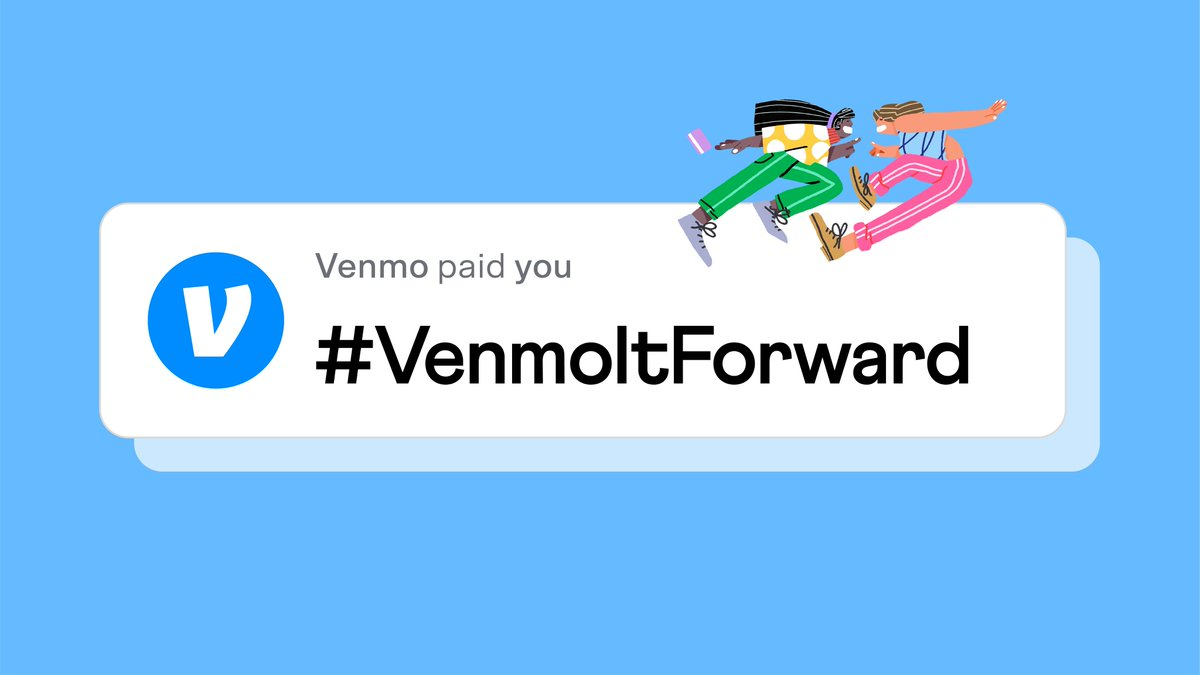 #VenmoItForward, roommate edition: Share this post 🔁, tag your roomie, and tell us your favorite thing about living with them. We might send you both $500. 💸  Must follow @Venmo. No purch nec. Ends 2/25. US only, 18+. Venmo account required. Rules: https://t.co/KUTu7I1eXH https://t.co/6AfTTcOUEa