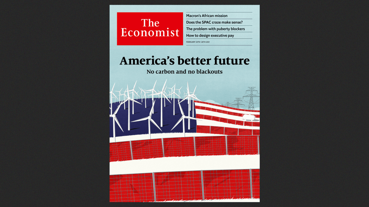 America needs both a cleaner grid and a more reliable one. This is the moment for the country to launch an ambitious attempt to deal with climate change. Our cover this week