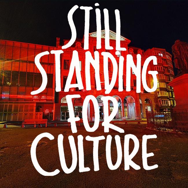 🔴 #StillStandingforCulture 🔴  Action ce samedi 20/02 dans Le Café des Arts, de 10h à 17h30 avec le Collectif Mensuel pour