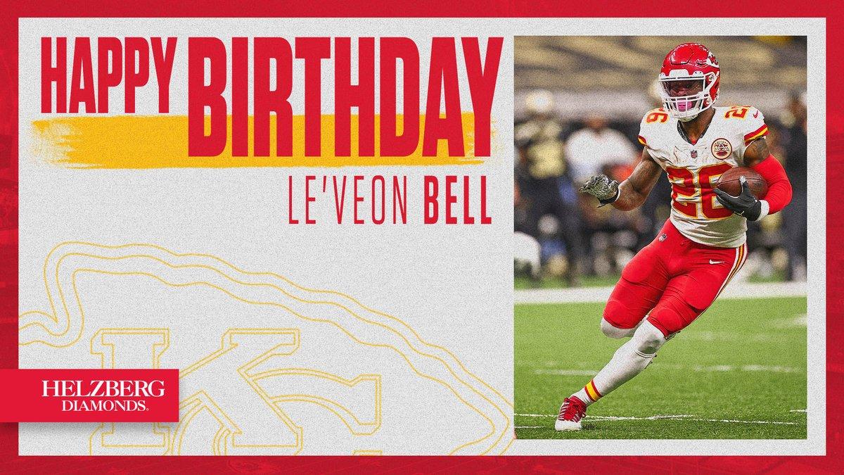 Happy birthday, @LeVeonBell!