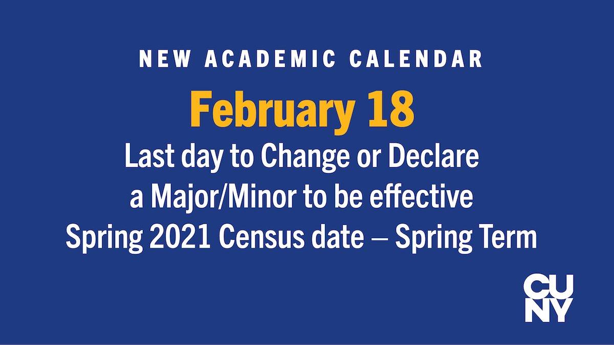Baruch Spring 2021 Calendar Baruch College (@BaruchCollege) | Twitter