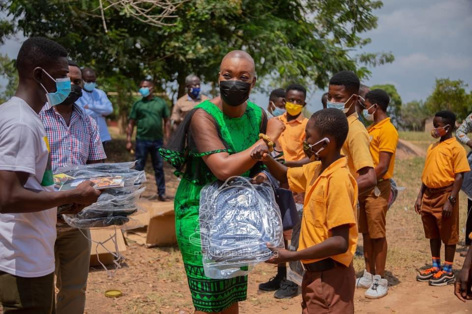 "Ashanti Kingdom: ManhyiaPalace ""Otumfuo Osei Tutu II Foundation @Otumfuofdn has supported deprived schools in rural communities with items as part of #BackToSchool campaign. "" #Exploregh #Ashanti #Kumasi #VisitKumasi"