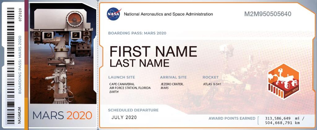 📣 Roll Call: Who is riding along on the fantastic voyage to Mars with @NASAPersevere? Reply with your #CountdownToMars boarding pass!