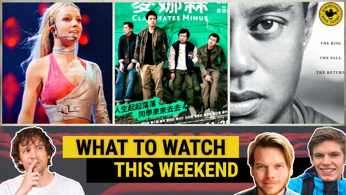 Here's what we think might be worth watching this weekend!   #FramingBritneySpears link #TigerHBO #classmatesminus #WhatToWatch #Netflix