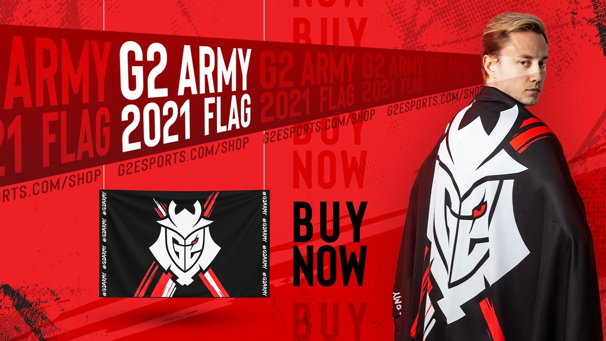 Fly your G2 colors high!  Our 2021 flag is HERE  BUY NOW: https://t.co/NplPScbkXF https://t.co/3106V7nb9W