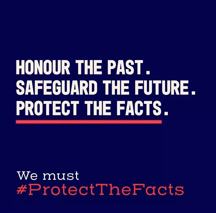 When Holocaust distortion is left unchallenged, it nourishes Holocaust denial, antisemitism, conspiracy myths and dangerous forms of nationalism. Taking action to counter Holocaust distortion is everyone's responsibility. #againstholocaustdistortion.org #ProtectTheFacts
