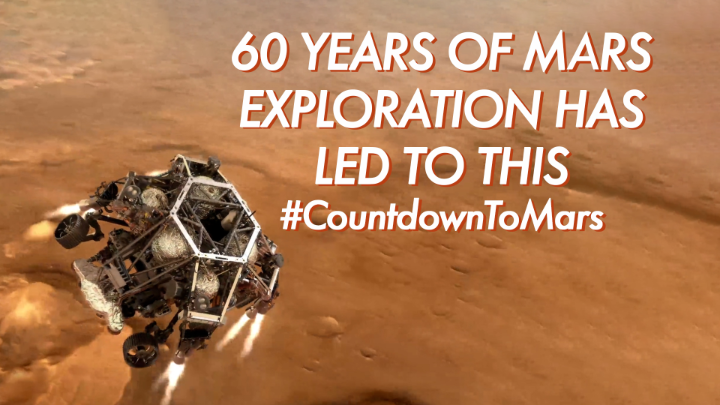 Replying to @NASA: Don't miss a moment of our #CountdownToMars.