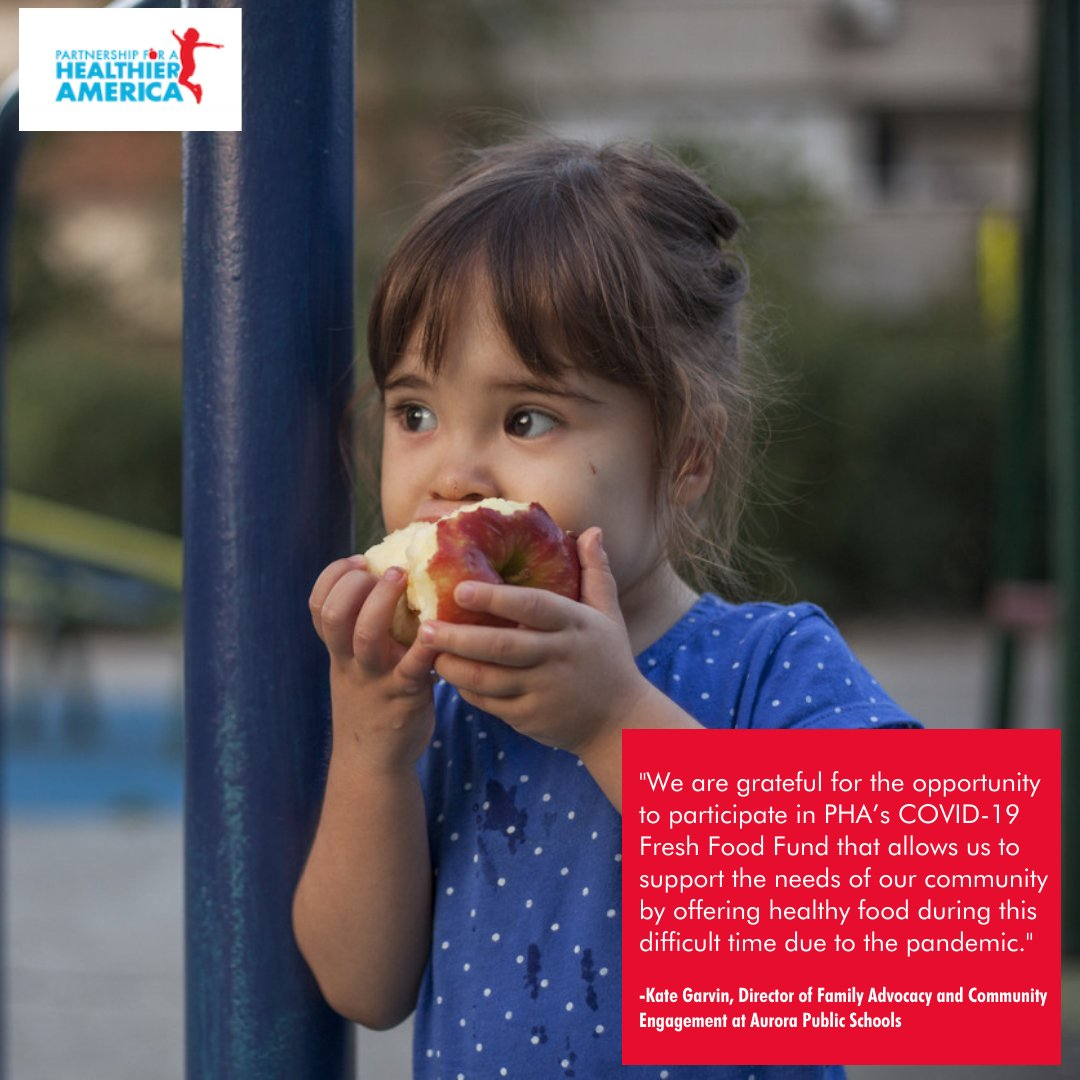 #COVID19 has dramatically intensified the hunger crisis, particularly for children. The @PHAnews COVID-19 Fresh Food Fund is fulfilling an emergency need for food and creating healthy habits for families. Our impact in Colorado and New York ➡️ bit.ly/3dnstNG