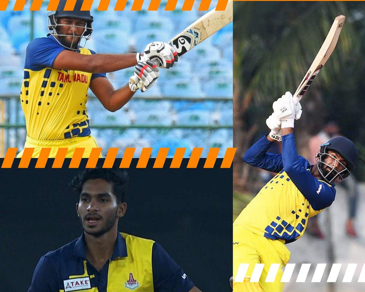 Congratulations to Tamil Nadu boys Shahrukh Khan, Hari Nishanth & Siddharth Manimaran!  Will be great to see these young guns setting the #IPL2021 on 🔥... hopefully not against KKR 😜  #IPLAuction