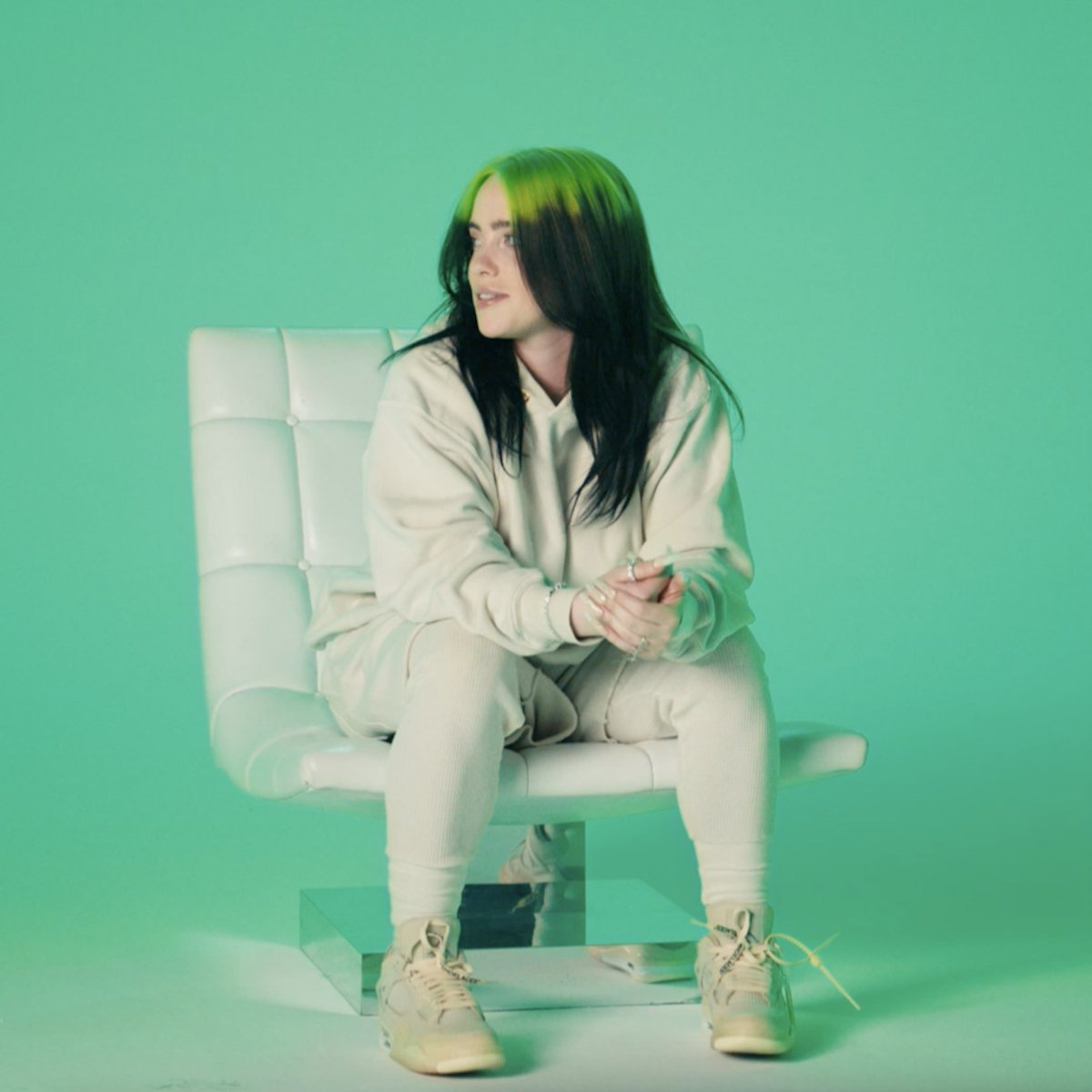 """.@billieeilish on her new film, """"There are certain things in the doc that I never planned on sharing with the world."""" Billie Eilish: The World's A Little Blurry, a film by R.J. Cutler, coming February 26 to theaters and Apple TV+ #TheWorldsALittleBlurry"""