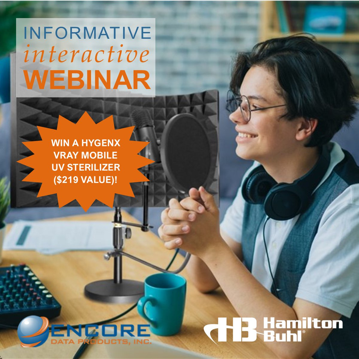 Join Encore and HamiltonBuhl for a 1-hr Webinar Mar-11 on navigating today's in-class, remote & blended learning environments. Dialogue with industry peers & share innovative solutions. Visit https://t.co/MiFbVioUnu https://t.co/sW5y00J6Rm