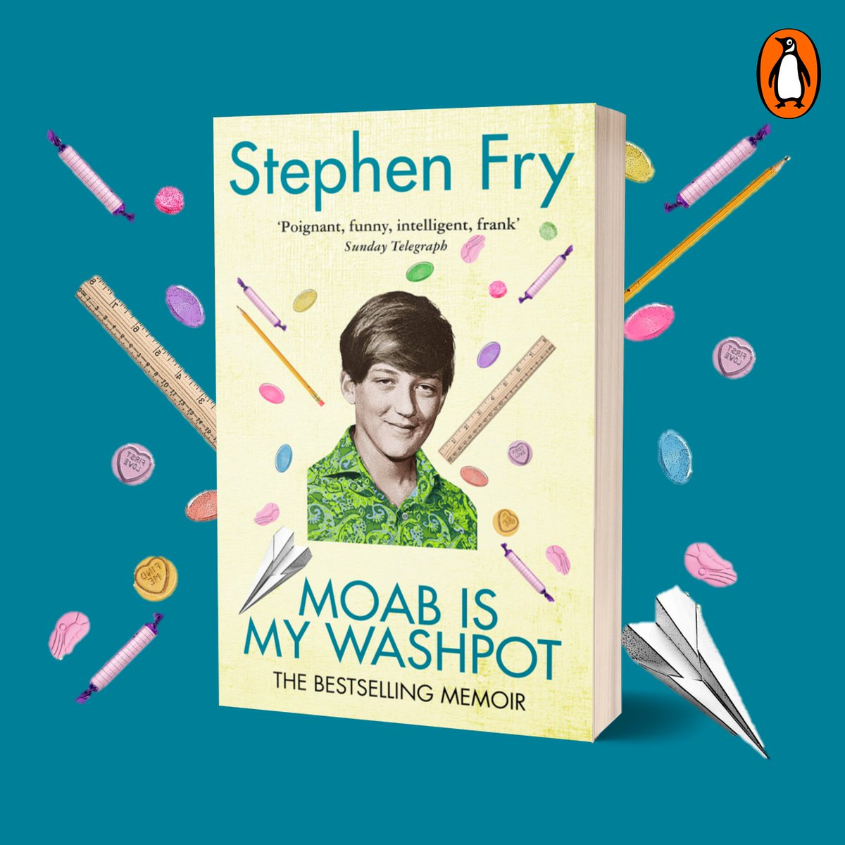 The original, bestselling autobiography from the incomparable @stephenfry is now available in this fantastic new edition!  In turns funny, shocking, tender, delicious, sad, lyrical, bruisingly frank and addictively readable.  Available now: