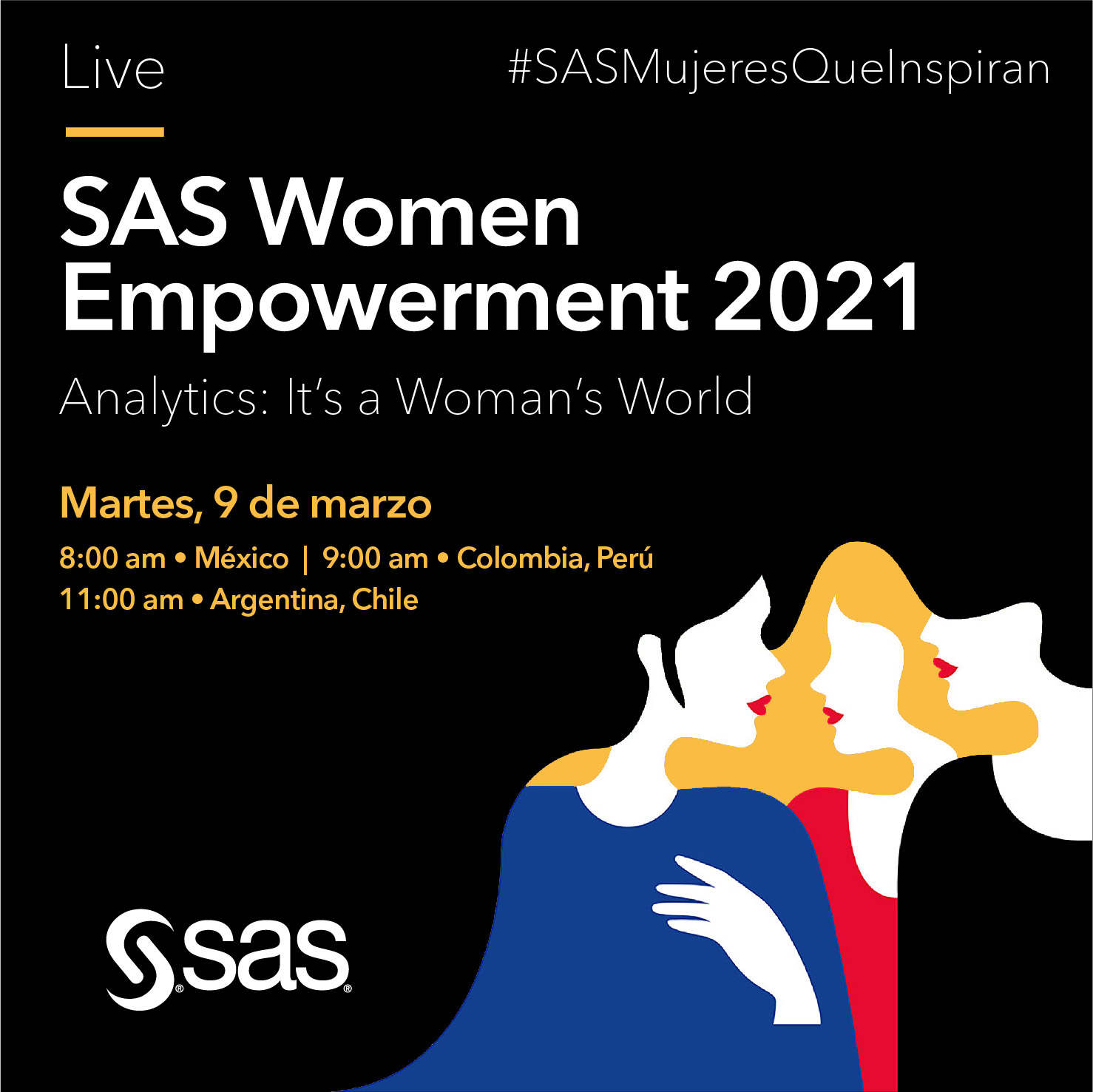SAS Mujeres que inspiran