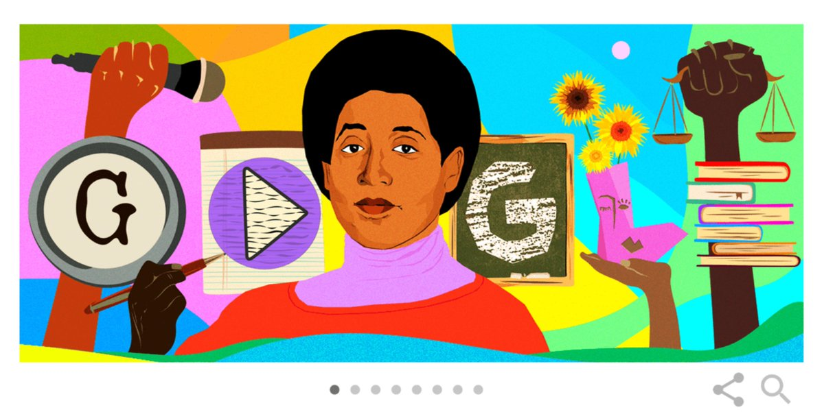 NO THAT IS NOT ME IN THE GOOGLE LOGO TODAY!!! STOP CONGRATULATING ME😡😡😡