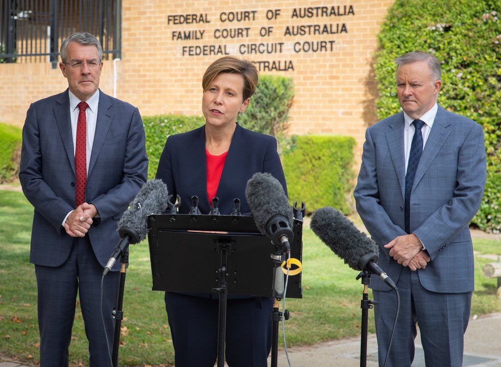 In this week of all weeks, it beggars belief that the Morrison Government has abolished the Family Court. Parliament has the power to make a difference – and this week, Parliament took us all backwards. This decision will be bad for women and bad for families.